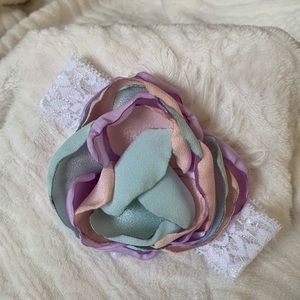 Other - Handmade pastel headband. Perfect for Easter